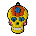 LD003 - Mexican Skull Yellow
