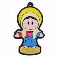 R005 - Chaveiro Sagrado Coração de Maria