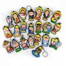 Mostruário - Chaveiros Religiosos 1 (22 Peças)