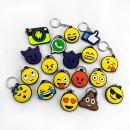 Mostruário Chaveiros - Emojis e Internet (19 Peças)