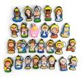 Mostruário - Chaveiros Religiosos 1 (26 Peças)